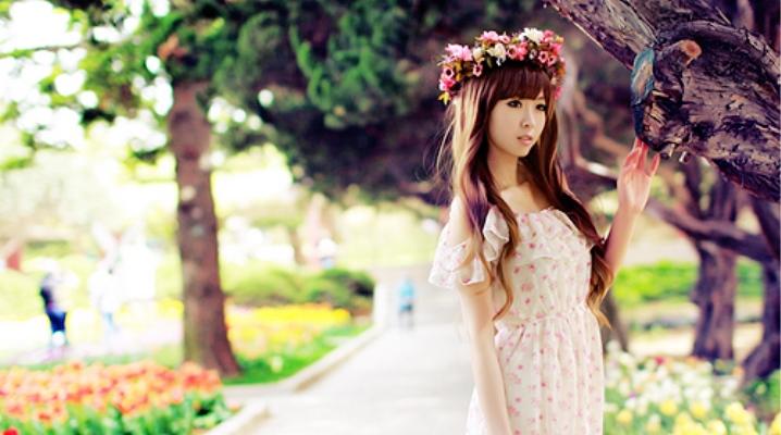 Корейська стиль одягу для дівчат