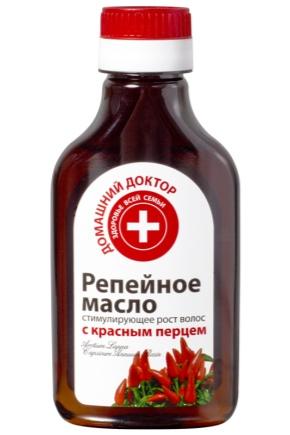 Реп'яхове масло з перцем для волосся