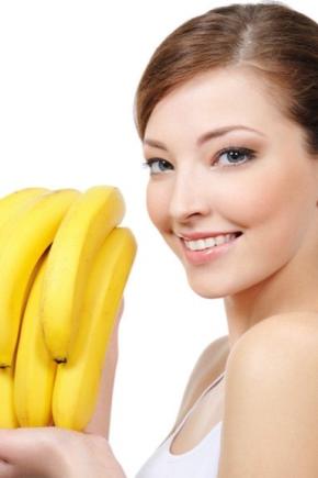 Маска для обличчя від зморшок з банана