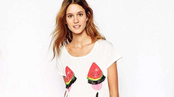 Найбільш стильні футболки для дівчат і жінок