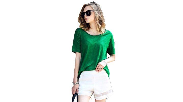 Зелені футболки