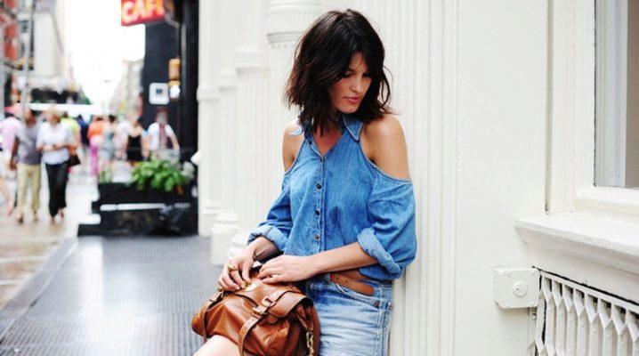 Модні жіночі джинсові шорти 2018 року