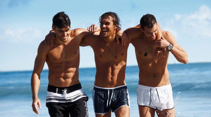 Чоловічі пляжні шорти 2018 року