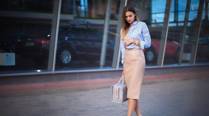 Спідниця-олівець – модні тенденції 2018