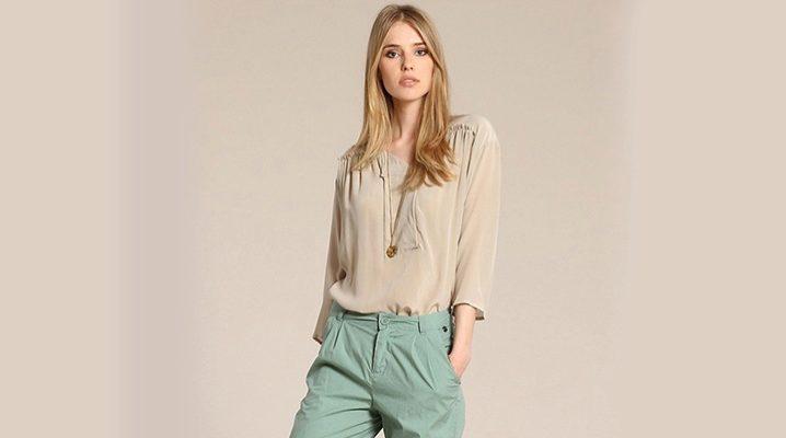 Жіночі брюки-чінос