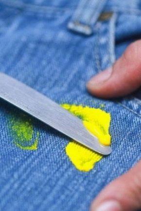Як відіпрати від одягу пластилін?