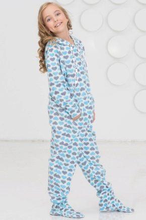 Флісові піжами для дітей