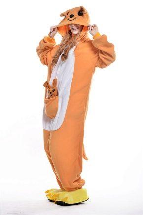 Жіноча піжама-кенгуру