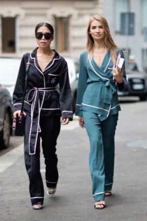 Домашні піжами-костюми – модний тренд 2018 року