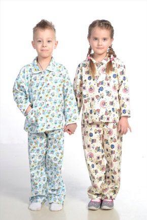 Дитяча піжама фланелева