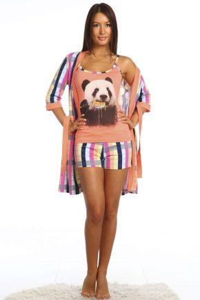 Жіноча піжама «Панда»