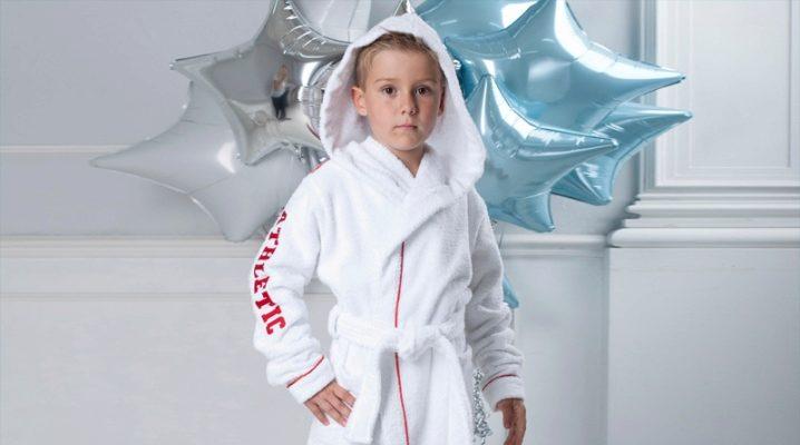 Дитячі халати для хлопчиків