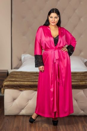 Жіночі халати великих розмірів