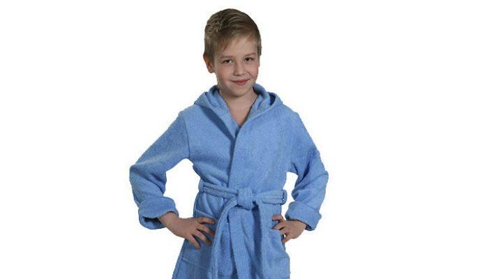 Дитячий халат для басейну