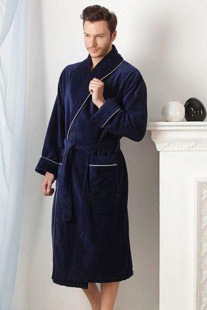 Банний халат чоловічий