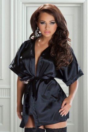 Атласні халати жіночі