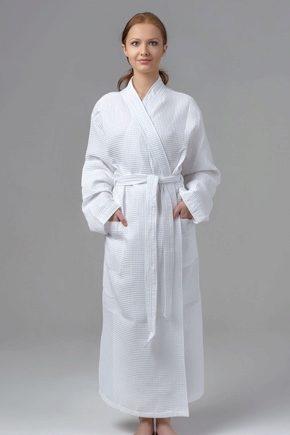 Вафельні халати