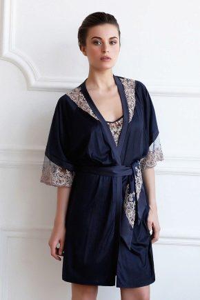 Жіночий халат з мереживом – спокуслива розкіш