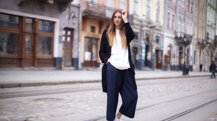 Жіночі укорочені брюки