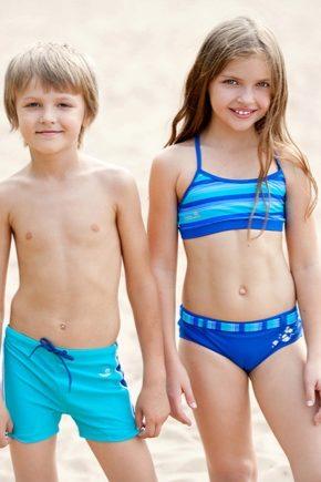 Як вибрати плавки, для хлопчиків і дівчаток?