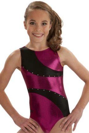 Купальник для спортивної гімнастики для дівчаток і хлопчиків