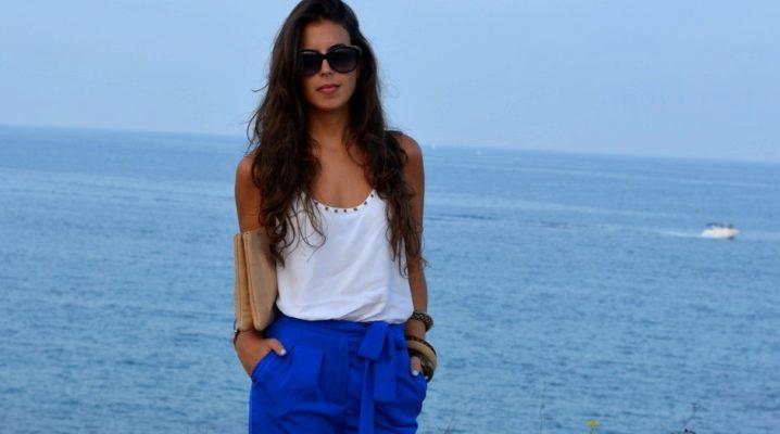 Жіночі сині штани