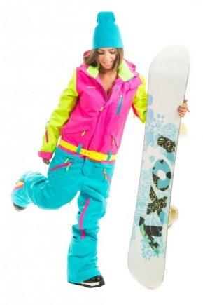 Жіночий костюм для сноуборду