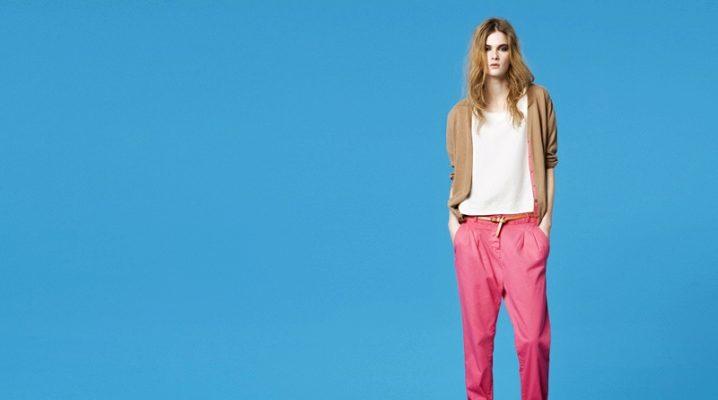 Кольорові штани