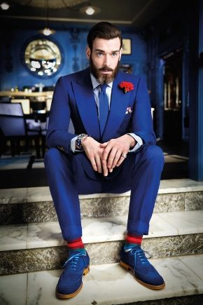 Чоловічі кольорові шкарпетки