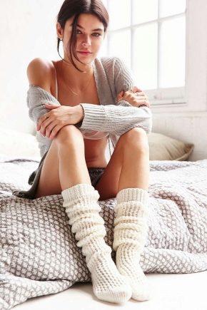 Шкарпетки з верблюжої вовни