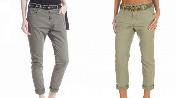 Жіночі брюки-бойфренди