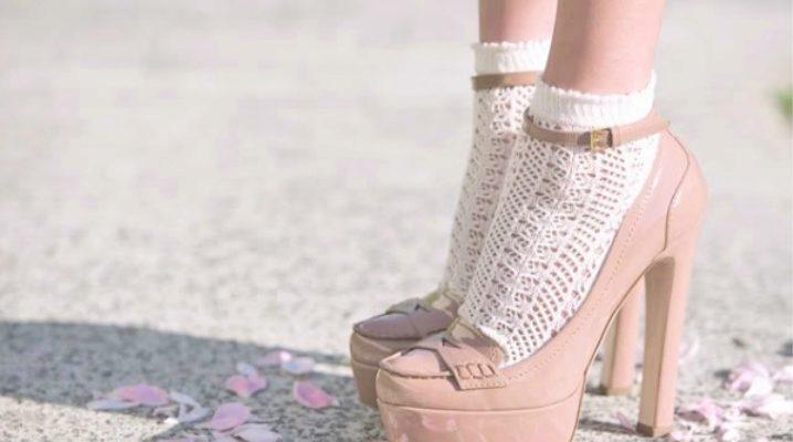Ажурні шкарпетки