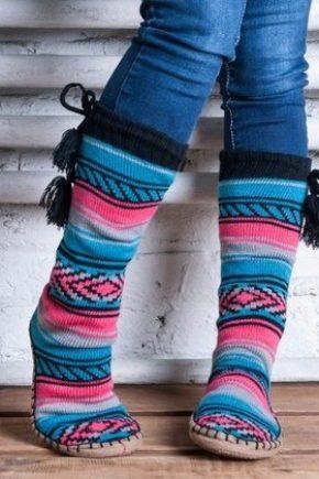 Шкарпетки-тапочки для жінок, чоловіків і дітей