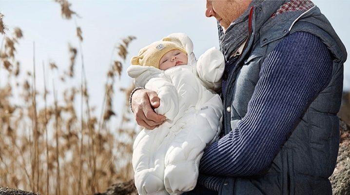 Комбінезон-трансформер для новонароджених