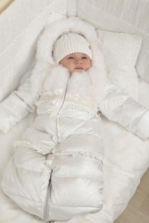 Зимовий комбінезон-конверт для новонароджених