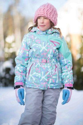 Зимовий костюм для дівчинки