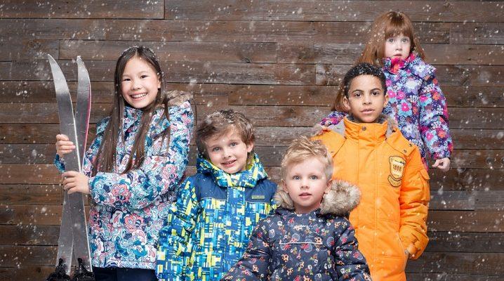 Дитячі зимові костюми