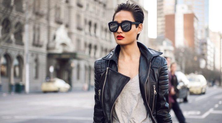 Модні шкіряні жіночі куртки від фабрики «Каляєв»