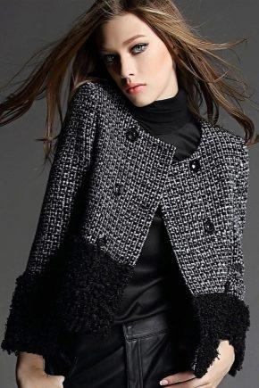 Жіночі твідові куртки та їх особливості