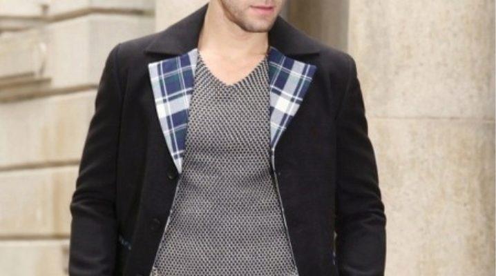 Чоловіча куртка з твіду