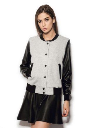 Модні куртки бомбер для жінок, чоловіків і дітей (83 фото)