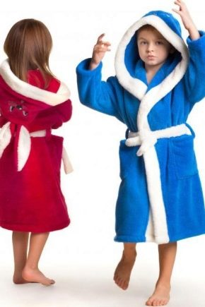 Дитячі банні халати