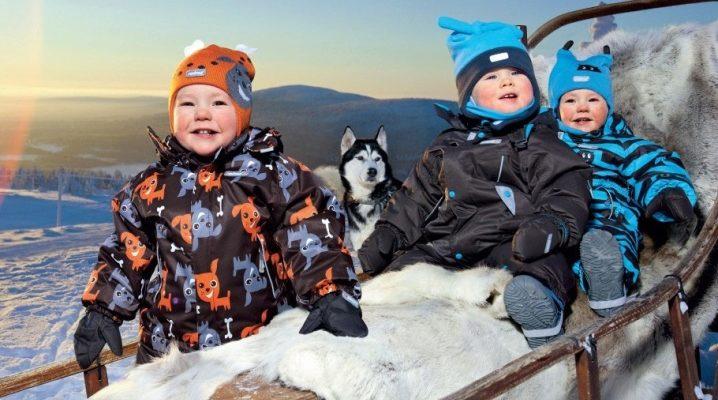 Фінські комбінезони для дітей на зиму – огляд кращих виробників