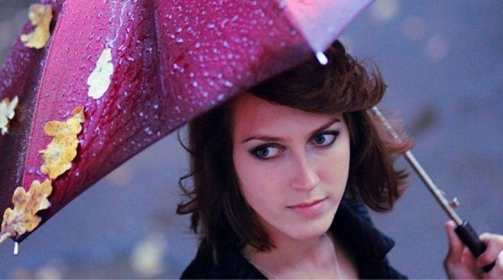 Жіночі парасольки-автомати