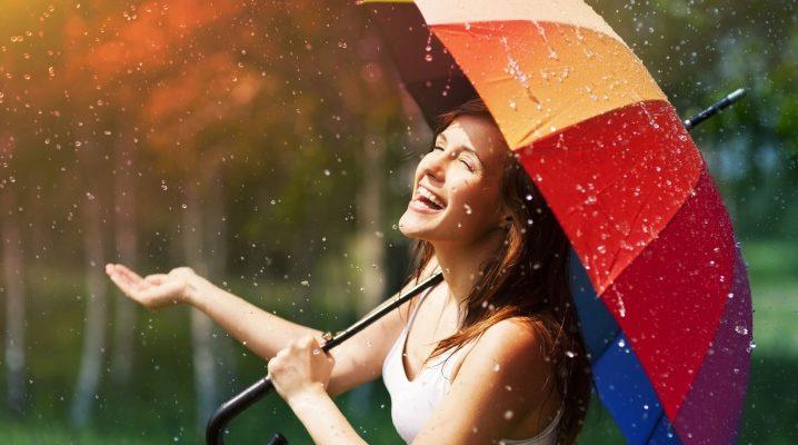 Райдужні парасольки знову в моді!