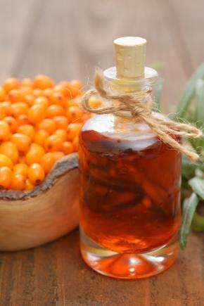 Застосування обліпихової олії для обличчя
