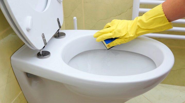 Як почистити унітаз?