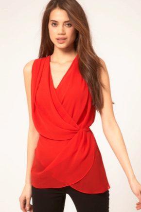 З чим носити червону сорочку?