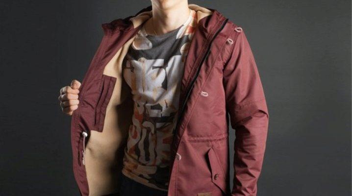 Осінні куртки чоловічі