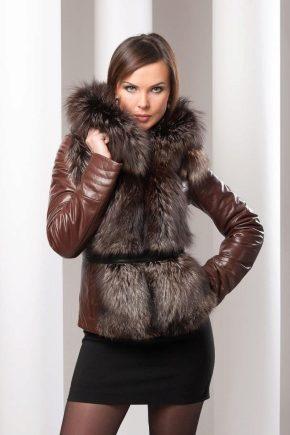 Модні шкіряні зимові куртки для чоловіків і жінок